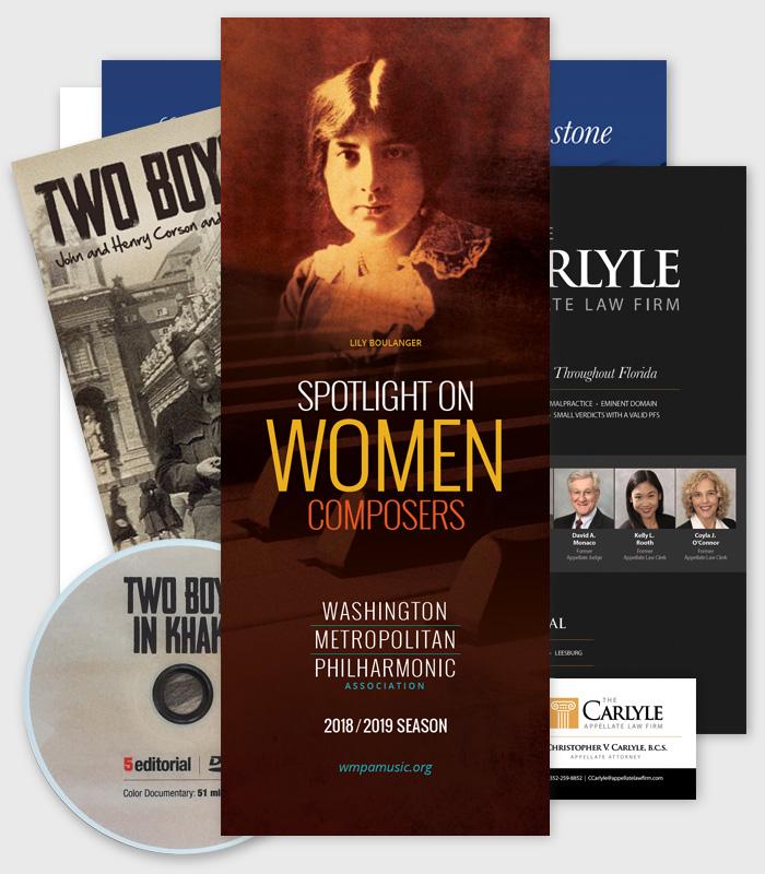 marketing graphic design / Paul Compton