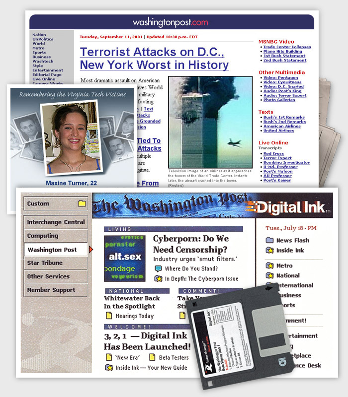 Web design / The Washington Post